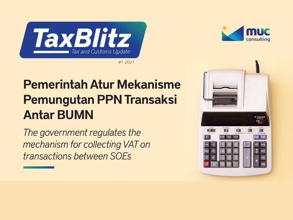 The government regulates the mechanism for collecting VAT on transactions between SOEs