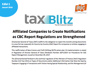 Affiliated Companies to Create Notifications as CBC Report Regulations are...