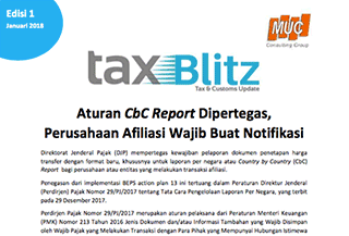 Aturan CbC Report Dipertegas, Perusahaan Afiliasi Wajib Buat Notifikasi