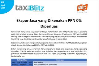 Ekspor Jasa yang Dikenakan PPN 0% Diperluas