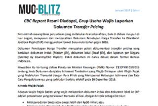 CBC Report Resmi Diadopsi, Grup Usaha Wajib Laporkan Dokumen Transfer Pricing