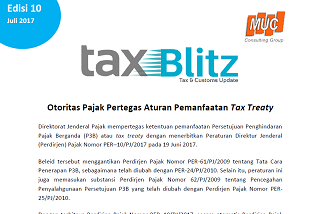 Otoritas Pajak Pertegas Aturan Pemanfaatan Tax Treaty