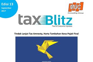 Tindak Lanjut Tax Amnesty, Harta Tambahan Kena Pajak Final