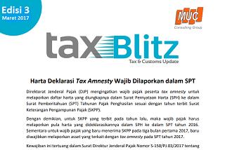 Harta Deklarasi Tax Amnesty Wajib Dilaporkan dalam SPT