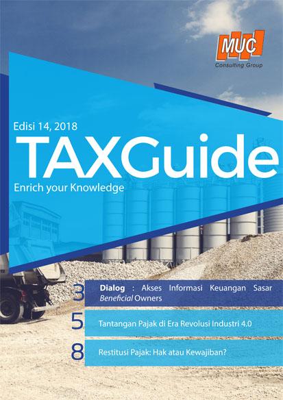 Tax guide Edisi 14, 2018