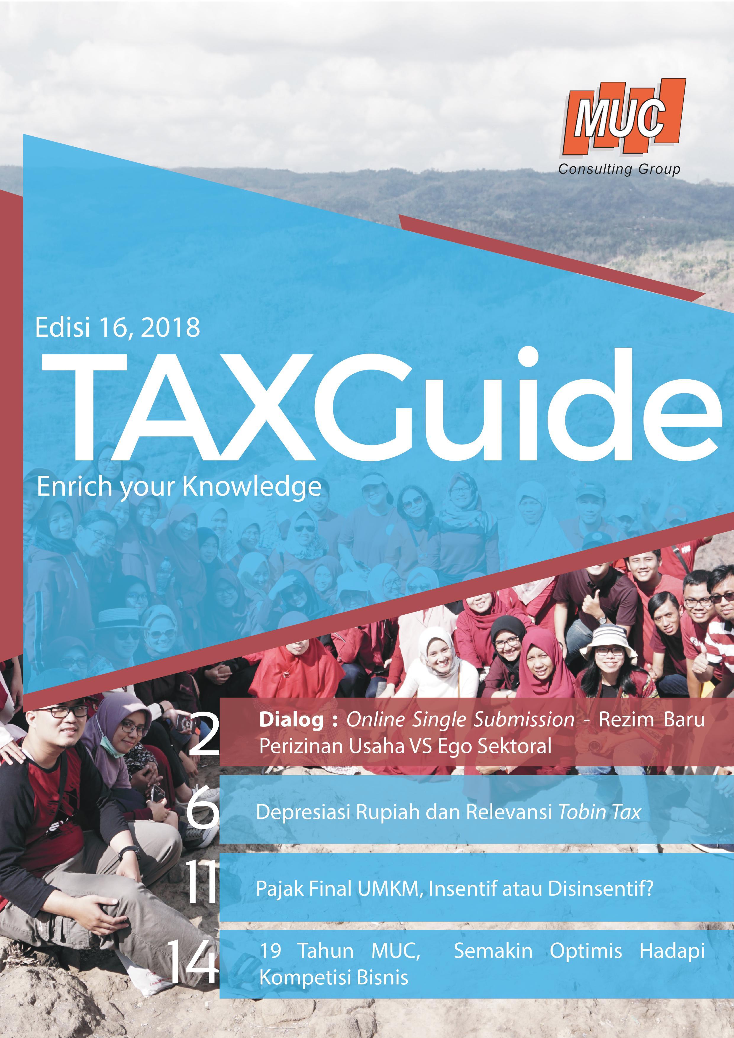 Tax guide Edisi 16 2018