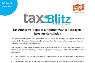 Tax Authority Prepares 8 Alternatives for Taxpayers' Revenue Calculation