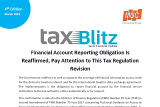 Financial Account Reporting Obligation Is Reaffirmed, Pay Attention to This Tax Regulation Revision