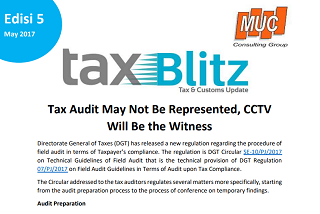 Tax Audit May Not Be Represented, CCTV Will Be the Witness