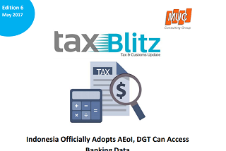 Indonesia Officially Adopts AEoI, DGT Can Access Banking Data
