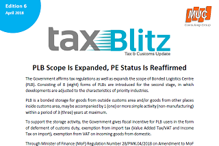 PLB Scope Is Expanded, PE Status Is Reaffirmed