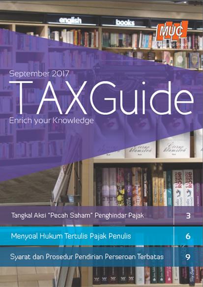 Tax Guide Edisi 8 Bahasa Indonesia