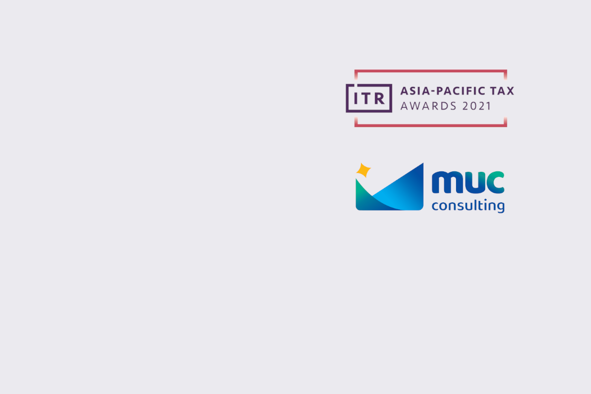 MUC Consulting is Nominated for Asia-Pacific Tax Award 2021