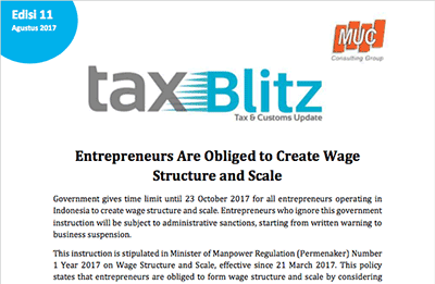 Entrepreneurs Are Obliged to Create WageStructure and Scale